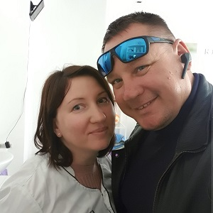 Сергей и Анастасия Латыпова.
