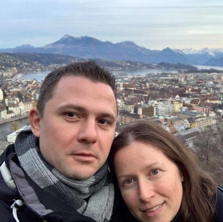 Женя и Денис Магарилл